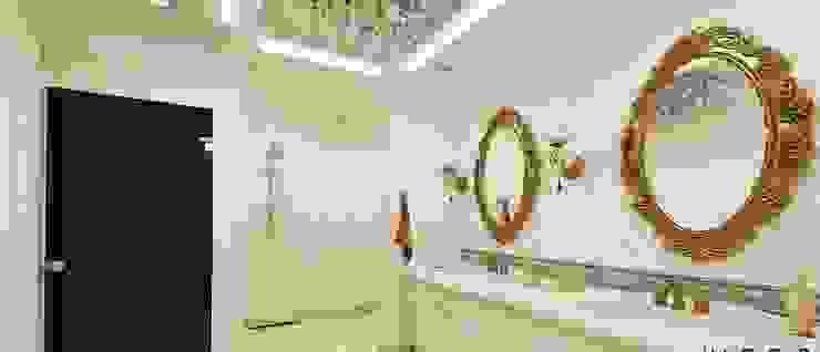 Banyo aydınlatma Klasik Banyo ANTE MİMARLIK Klasik