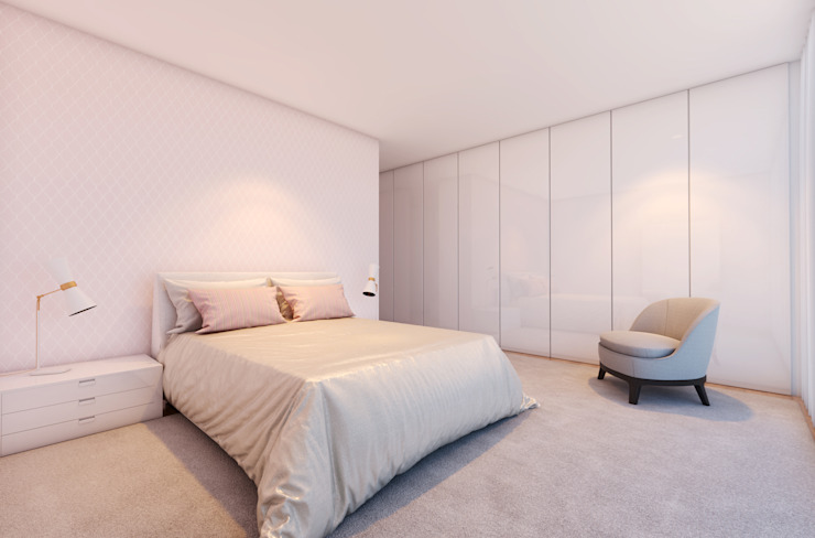 CASA MARQUES INTERIORES Nursery/kid's roomWardrobes & closets MDF