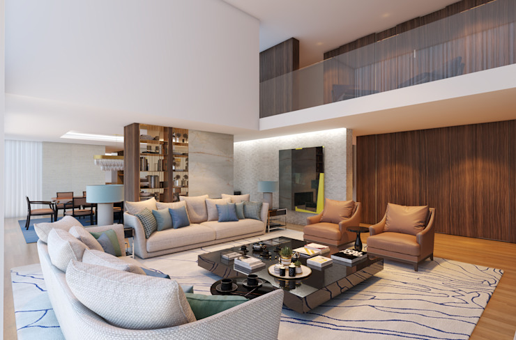 CASA MARQUES INTERIORES Living roomSofas & armchairs Textile
