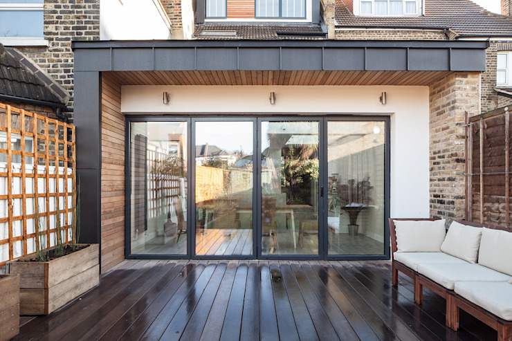 Stondon Park Red Squirrel Architects Ltd Rumah Modern