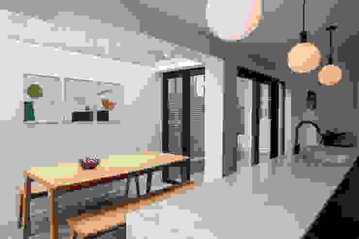 Fermor Red Squirrel Architects Ltd Modern kitchen