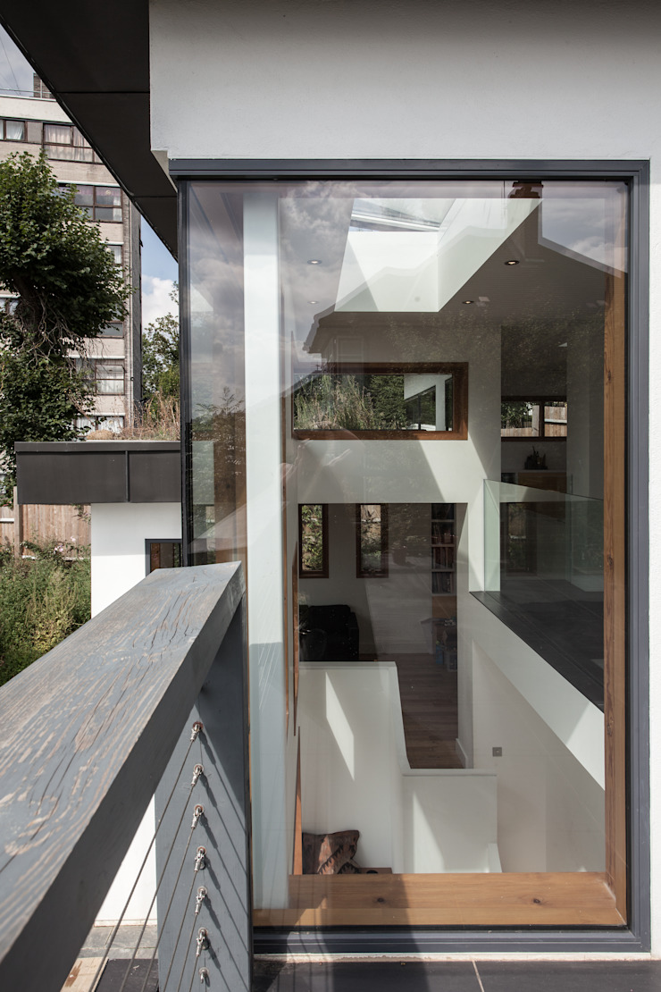 Honor Oak Red Squirrel Architects Ltd Modern houses
