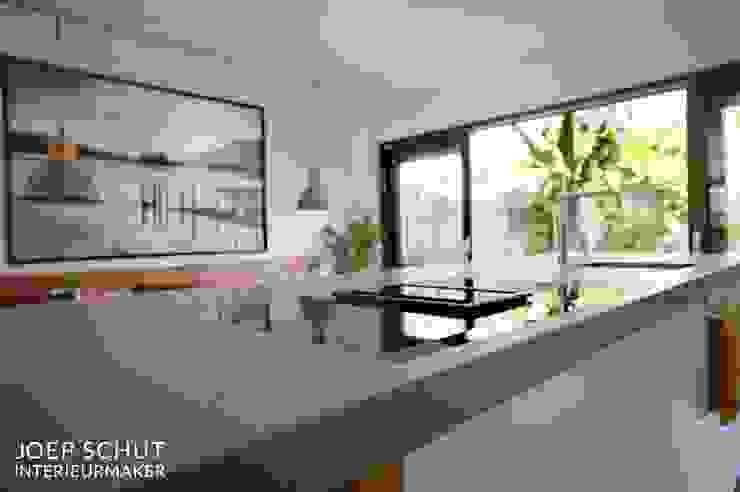 Joep Schut, interieurmaker ห้องครัวตู้เก็บของและชั้นวางของ แผ่น MDF Turquoise