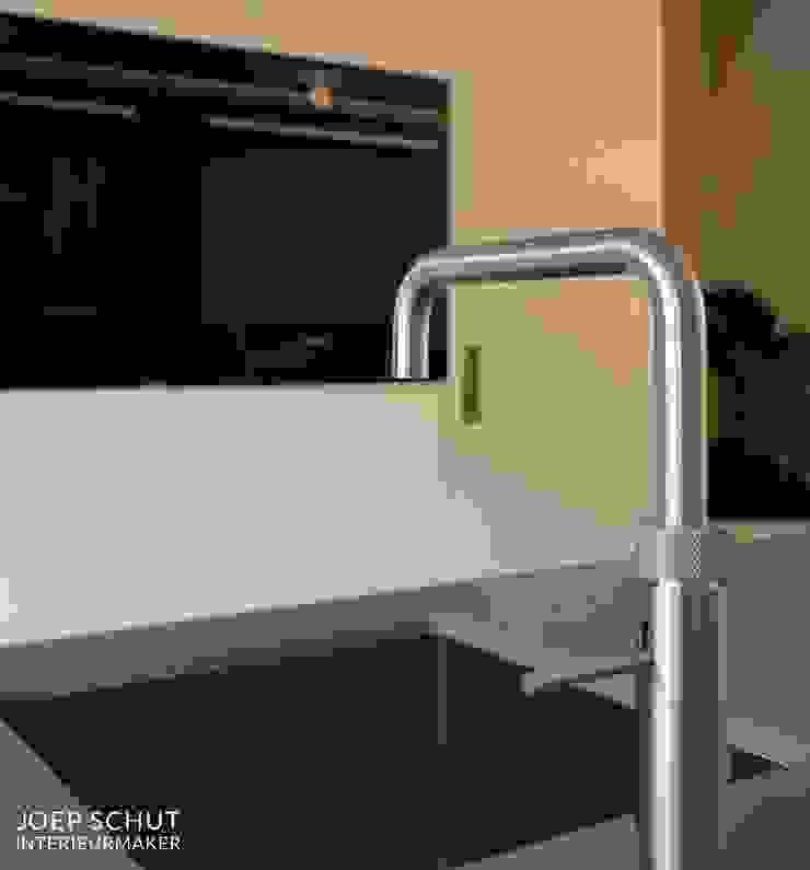 Joep Schut, interieurmaker CocinaArmarios y estanterías Tablero DM Blanco