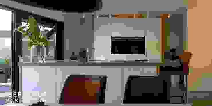 Joep Schut, interieurmaker ห้องครัวตู้เก็บของและชั้นวางของ แผ่น MDF White