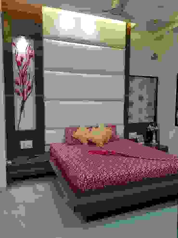 Chandaliya residence Modern style bedroom by RESHA Architect Modern