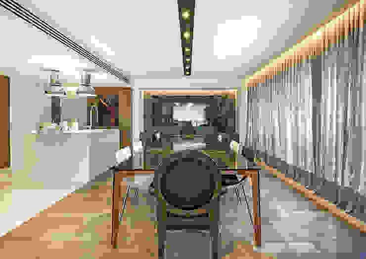 Apartamento Com Design BG arquitetura | Projetos Comerciais Salas de jantar modernas