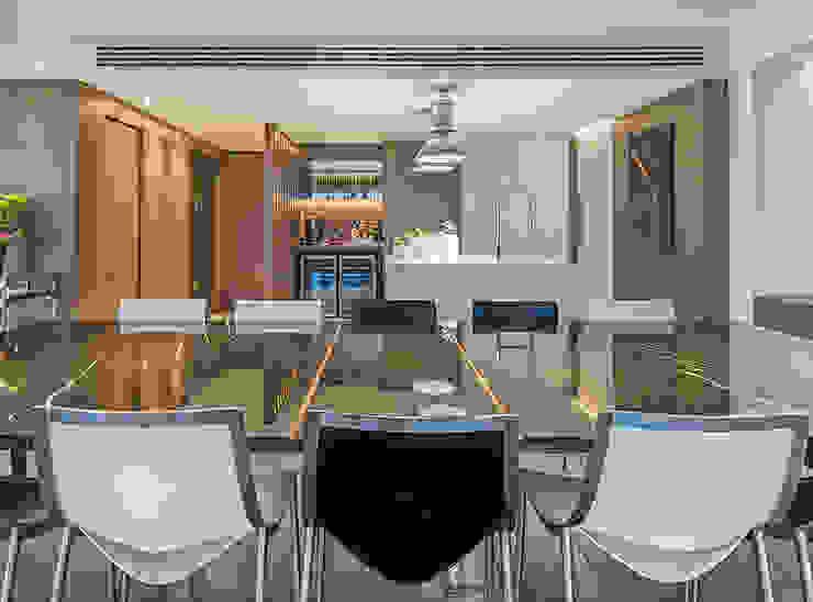 Sala da pranzo moderna di BG arquitetura | Projetos Comerciais Moderno