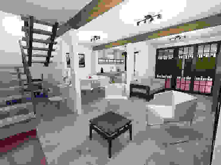 Remodelación Casa Habitación : Casas multifamiliares de estilo  por Prototype studio, Moderno