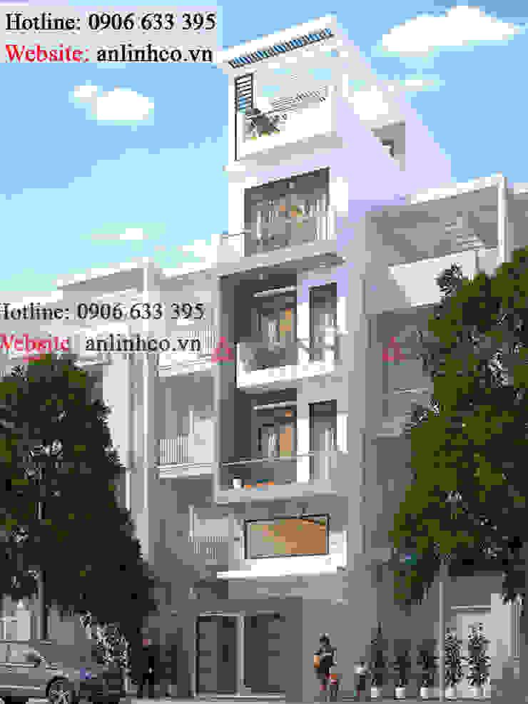 Mẫu nhà phố đẹp - Công trình CHUNG HUỆ NHAN bởi CÔNG TY THIẾT KẾ XÂY DỰNG AN LĨNH