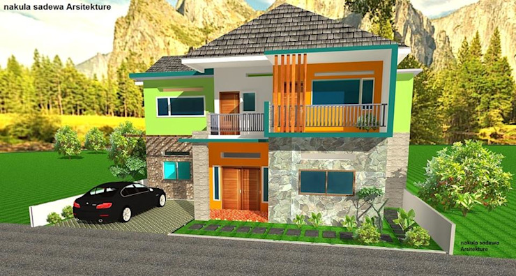 Rumah Tropic Oleh nakula sadewa Arsitekture and Construction