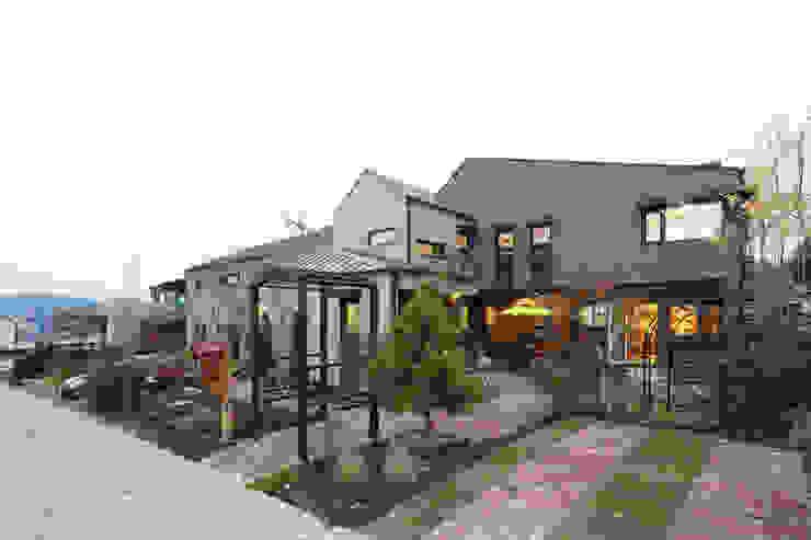 원주 반곡동 혁신도시주택 by 주택설계전문 디자인그룹 홈스타일토토 모던 타일
