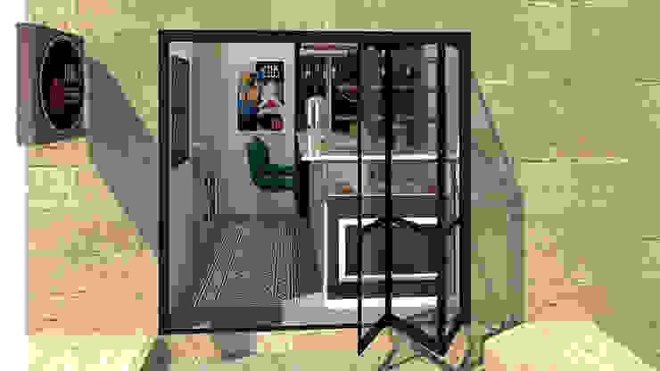 Arquitectura & Design De Restaurante Côte d`Azur Espaços de restauração eclécticos por No Place Like Home ® Eclético