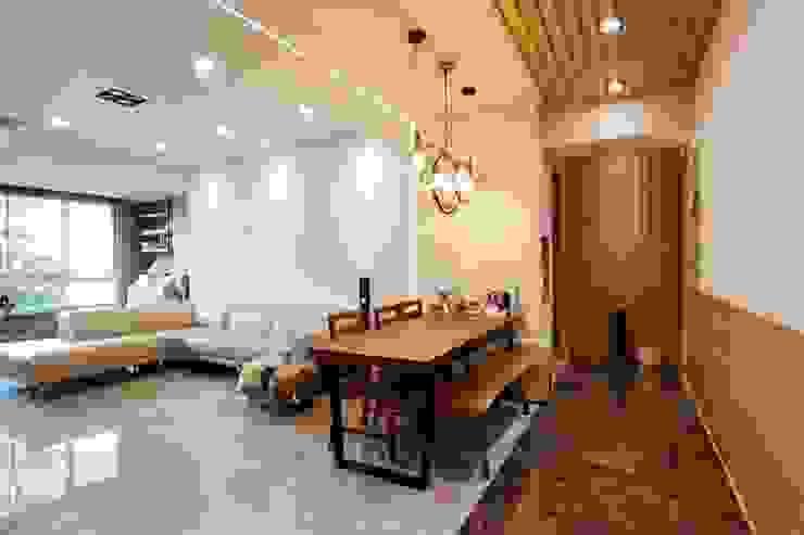 青築制作 Eclectic style dining room