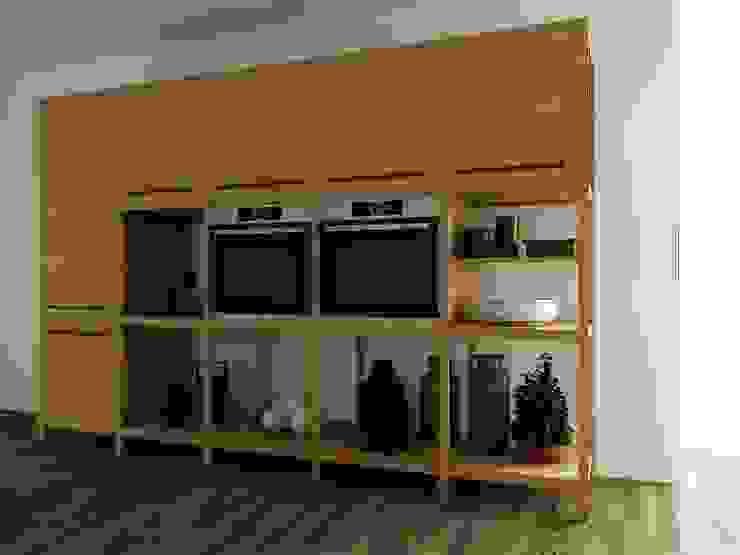 mobiliario 001 de Carlos Guevara Moderno Madera Acabado en madera