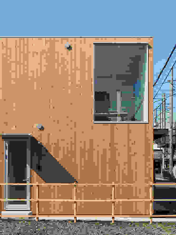 木箱の家 北欧風 家 の すずき/suzuki architects (一級建築士事務所すずき) 北欧 木 木目調