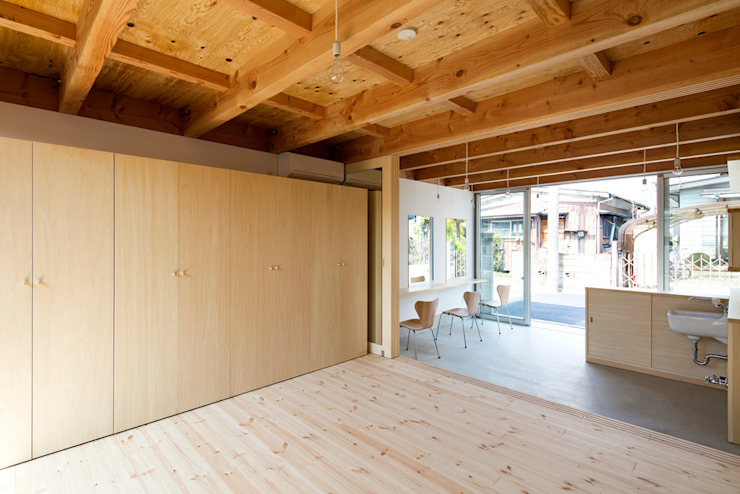 木箱の家 の すずき/suzuki architects (一級建築士事務所すずき) 北欧 木 木目調