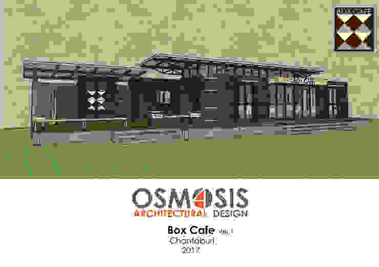 Box Cafe Ver.1 โดย OSMOSIS Architectural Design อินดัสเตรียล เหล็ก