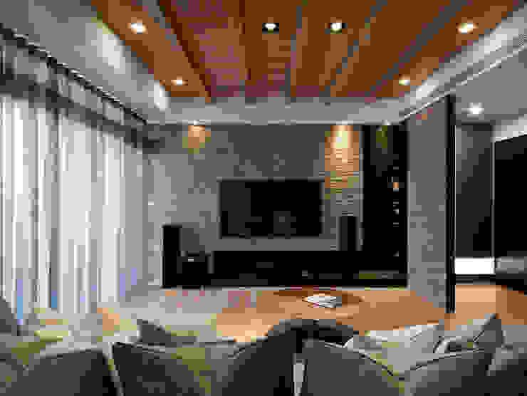 Fertility Design 豐聚空間設計 Modern Living Room Wood effect