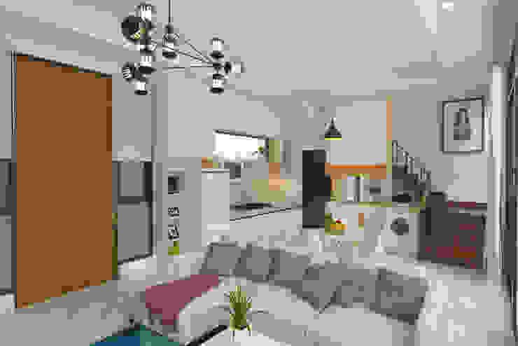 Minimalist living room by Arsitekpedia Minimalist
