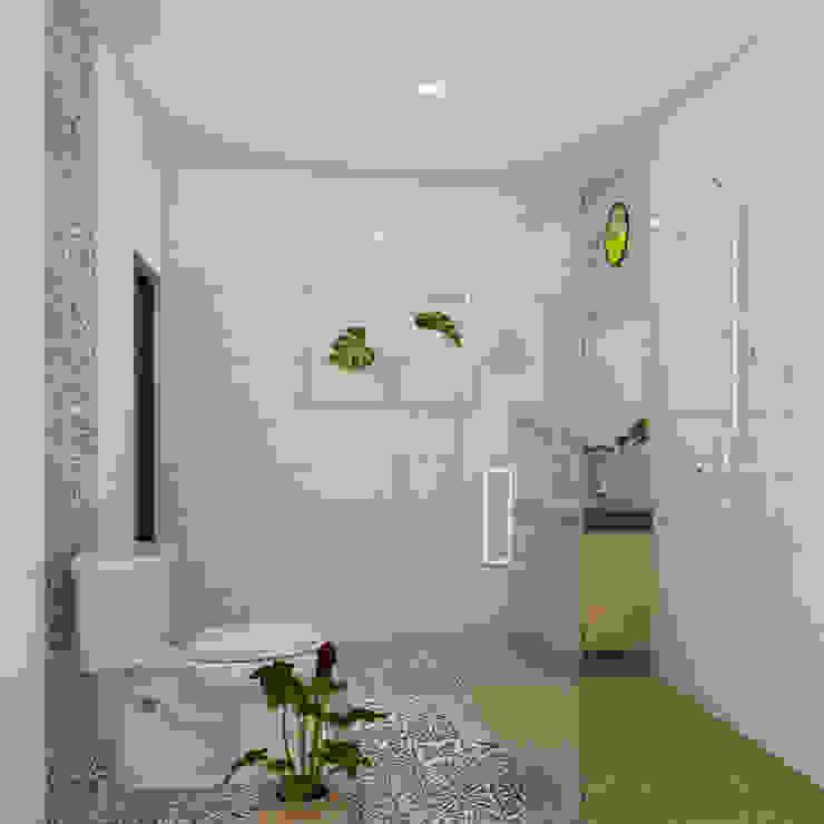 Baños de estilo minimalista de Arsitekpedia Minimalista