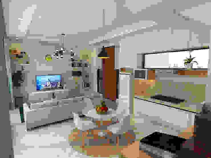 BSB Interior Ruang Makan Minimalis Oleh Arsitekpedia Minimalis
