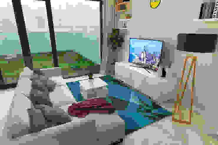 Ruang Keluarga Ruang Keluarga Minimalis Oleh Arsitekpedia Minimalis