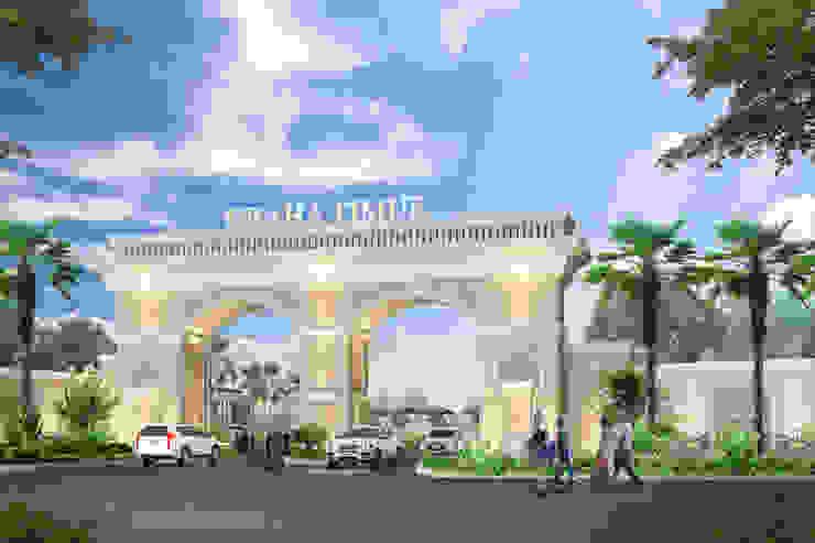 Gerbang Prumahan Graha Timur Purwokerto Oleh Arsitekpedia