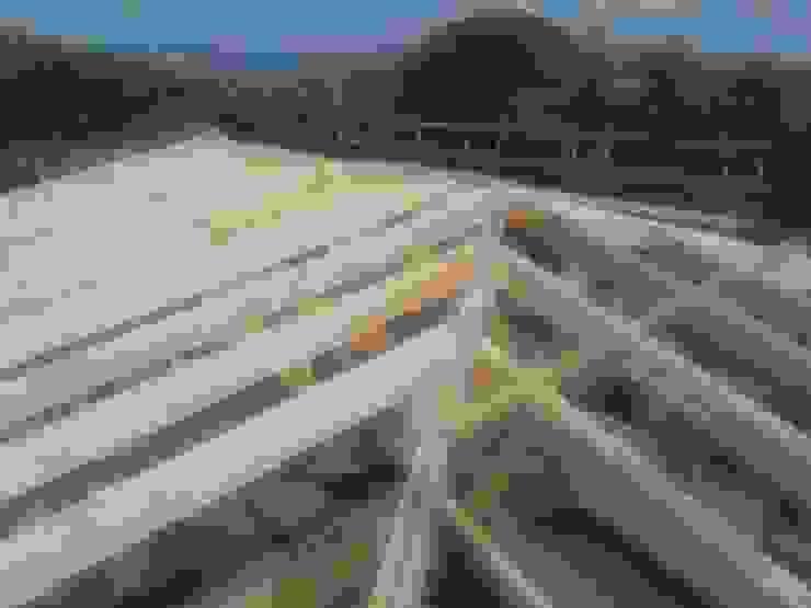Reconstrucción de tejado en Valdemorillo de Recasa, reformas y rehabilitaciones en Marbella Mediterráneo Madera Acabado en madera