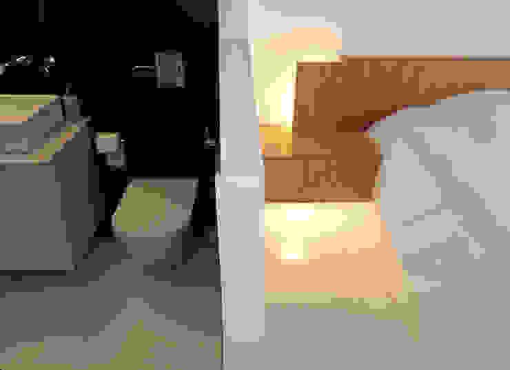 Reforma de piso para una familia de músicos MG arquitectos Dormitorios de estilo moderno