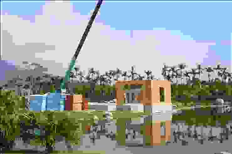 快速搭建起樑柱牆面 根據 安居住宅有限公司 日式風、東方風