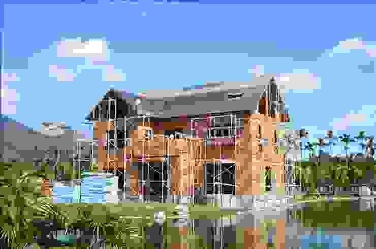 屋頂進一步施工 根據 安居住宅有限公司 日式風、東方風