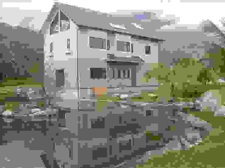 完工後的別墅另一角度 根據 安居住宅有限公司 日式風、東方風