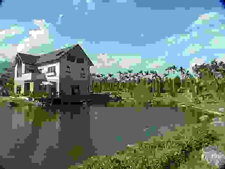 好山好水適合度假 根據 安居住宅有限公司 日式風、東方風