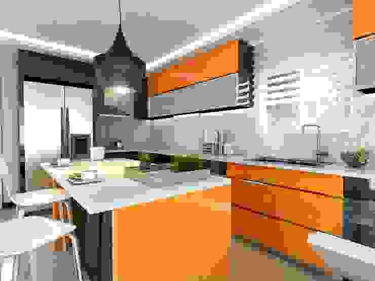 Muebles de cocinas de estilo  por ANTE MİMARLIK