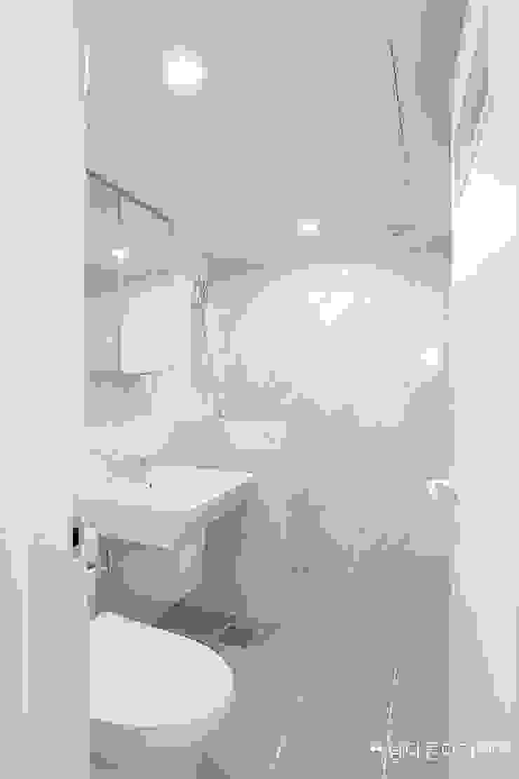 대구 북구 칠성동 칠성휴먼시아 34PY 모던스타일 욕실 by 남다른디자인 모던