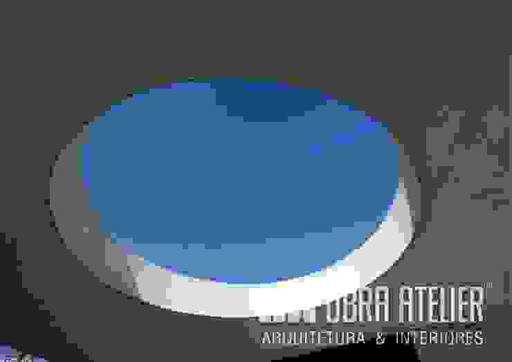 Visualização do Interior Paredes e pisos campestres por OBRA ATELIER - Arquitetura & Interiores Campestre