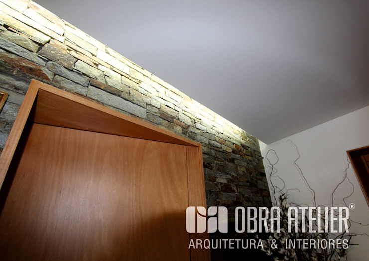 Interior por OBRA ATELIER - Arquitetura & Interiores Campestre