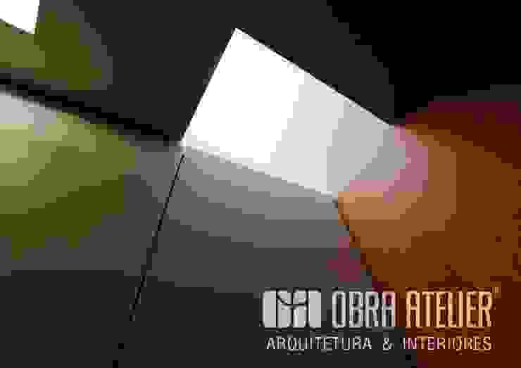 Casa do Xisto | Arquitetura Contemporânea Paredes e pisos campestres por OBRA ATELIER - Arquitetura & Interiores Campestre