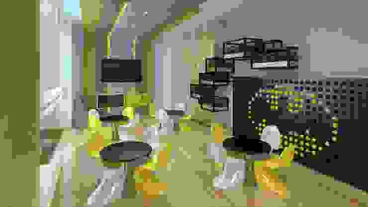 Sala de Niños K'ANKA Salas multimedia modernas