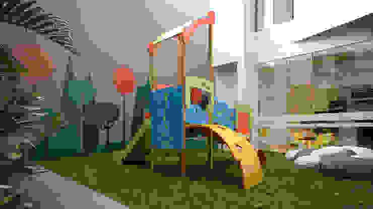 Zona de Juegos K'ANKA Jardines modernos: Ideas, imágenes y decoración