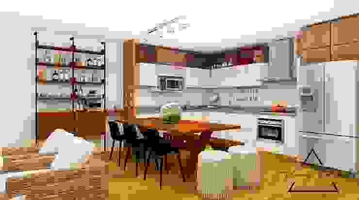 Oleh Farach Interior Design Modern Chipboard