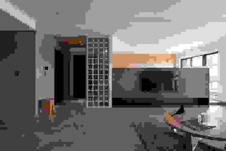 公共空間 根據 極簡室內設計 Simple Design Studio 日式風、東方風