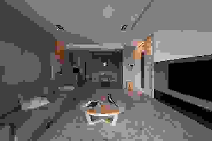 公共空間 亞洲風玄關、階梯與走廊 根據 極簡室內設計 Simple Design Studio 日式風、東方風