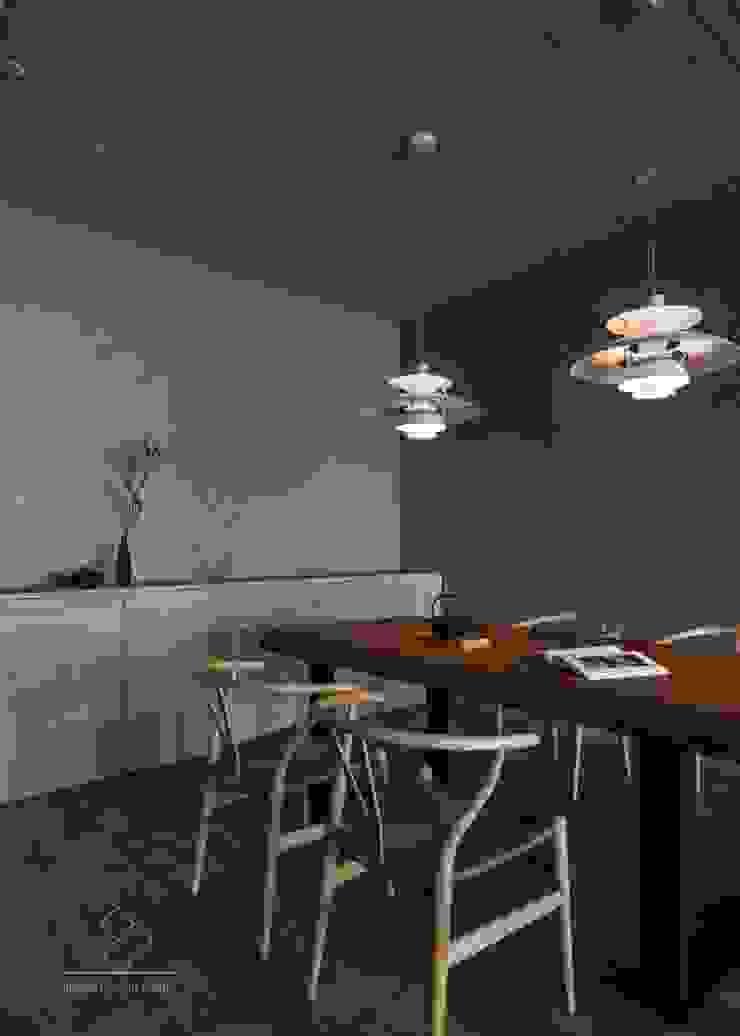 餐廳 根據 極簡室內設計 Simple Design Studio 日式風、東方風 木頭 Wood effect