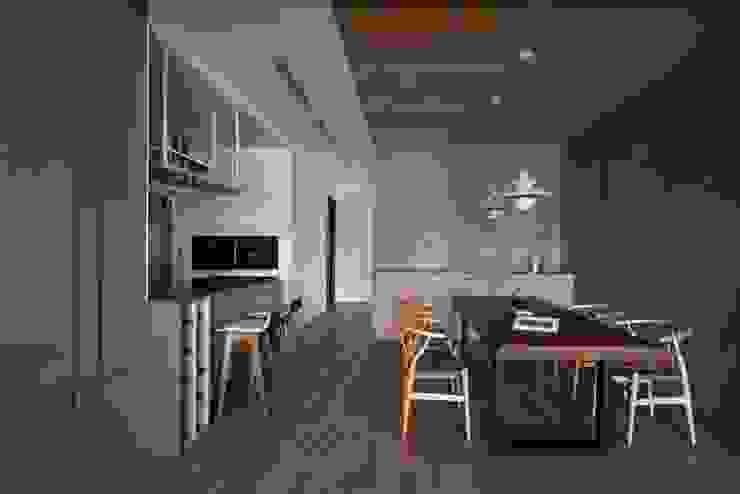 餐廳 根據 極簡室內設計 Simple Design Studio 日式風、東方風