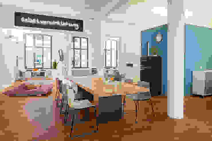 Büro Köln, Pfannes & Virnich Moderne Bürogebäude von Sebastian Hopp PHOTOGRAPHY Modern