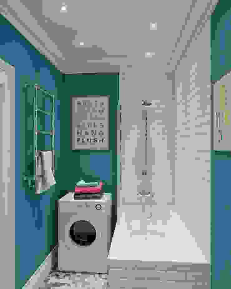 Different ideas for bath room decorations with castle: حديث  تنفيذ كاسل للإستشارات الهندسية وأعمال الديكور في القاهرة, حداثي أبلكاش