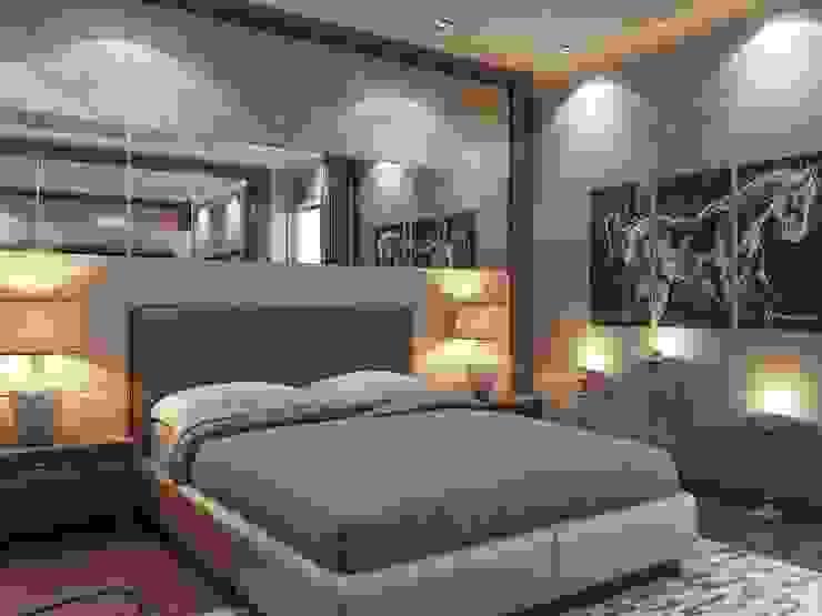 Yatak odası Modern Yatak Odası ANTE MİMARLIK Modern