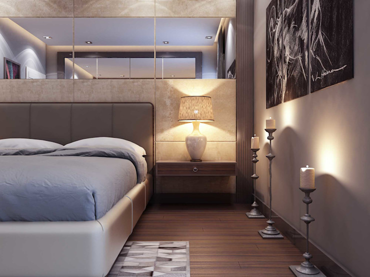 Aksesuar seçimi ANTE MİMARLIK Modern Yatak Odası